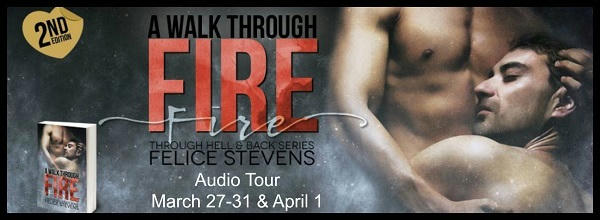 Felice Stevens - A Walk Through Fire AT Banner
