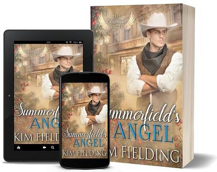 Kim Fielding - Summerfield's Angel 3d Promo