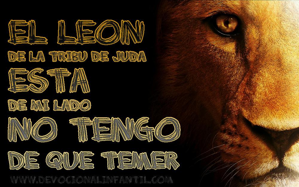 El león de la tribu de Juda – Tarjeta