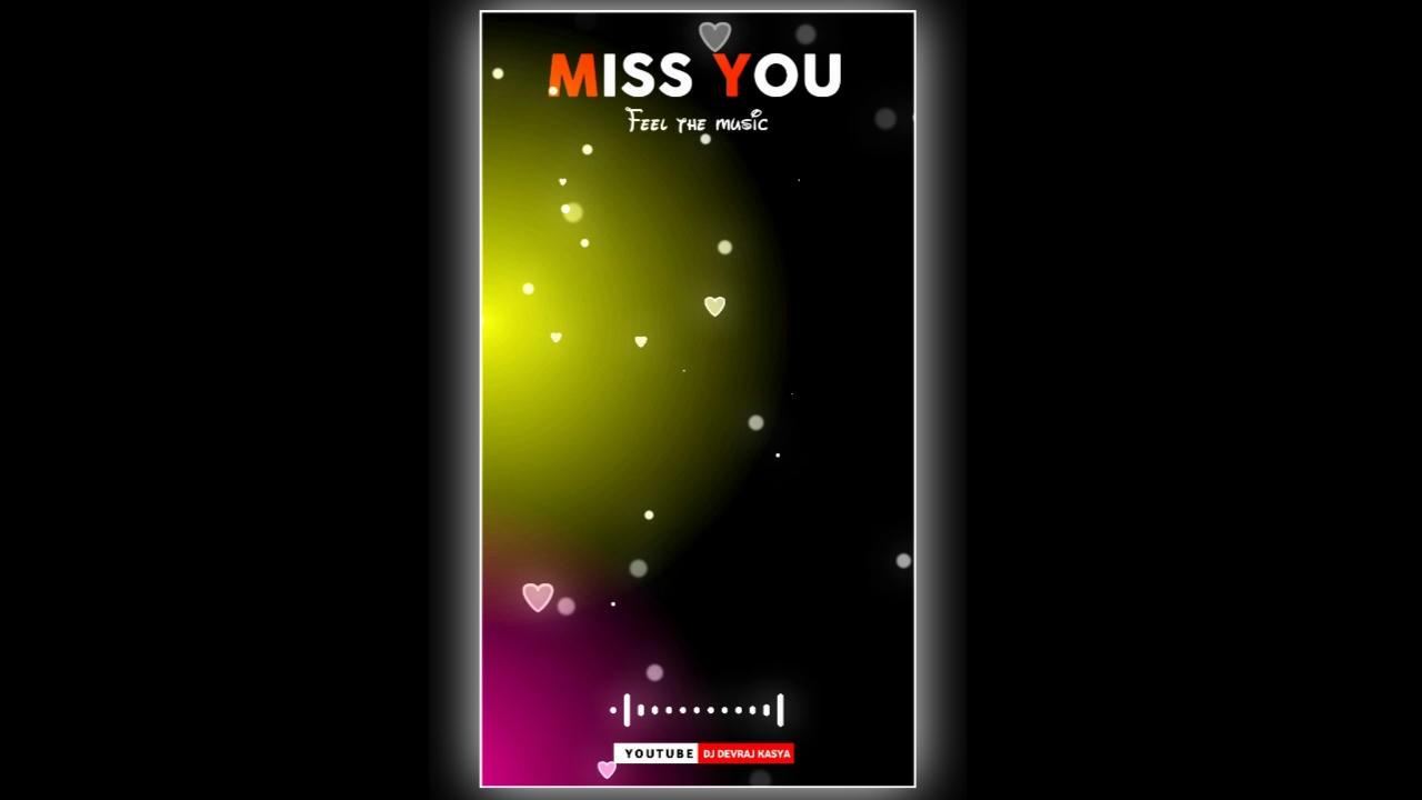Miss You Green Screen WhatsApp Status Video