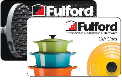Fulfords Physical Gift Cards