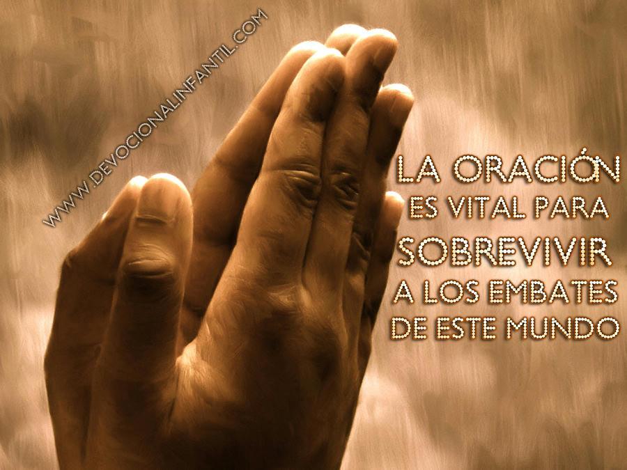 La oración es vital – Tarjeta