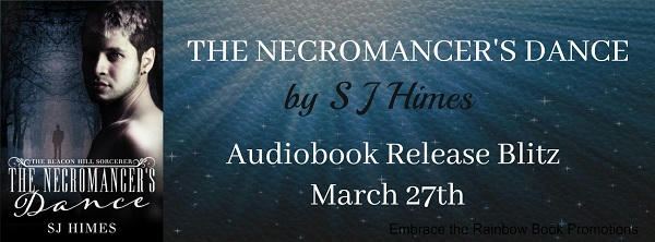S.J. Himes - The Necromancer's Dance Audio RB Banner