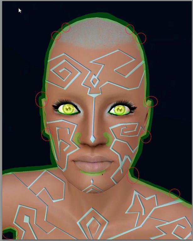 [Apprenti] Effet futuriste - Créer des lignes sur la peau Qqcabasgyxquvd16g