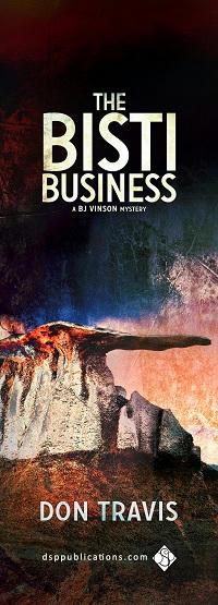 Don Travis - The Bisti Business Bookmark