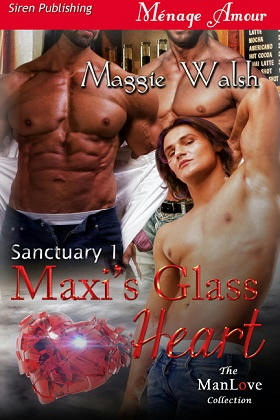 Maggie Walsh - Maxi's Glass Heart Cover