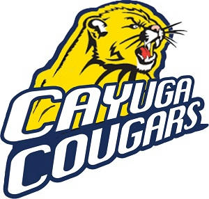 V.L. Locey Cayuga Cougars series banner