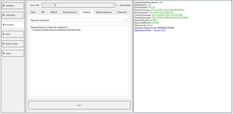 عمل DOWNGRADE لهاتف Huawei Y9s STK-L21MDV الاصدار 10.0.0.274   الى  9.1.0 339