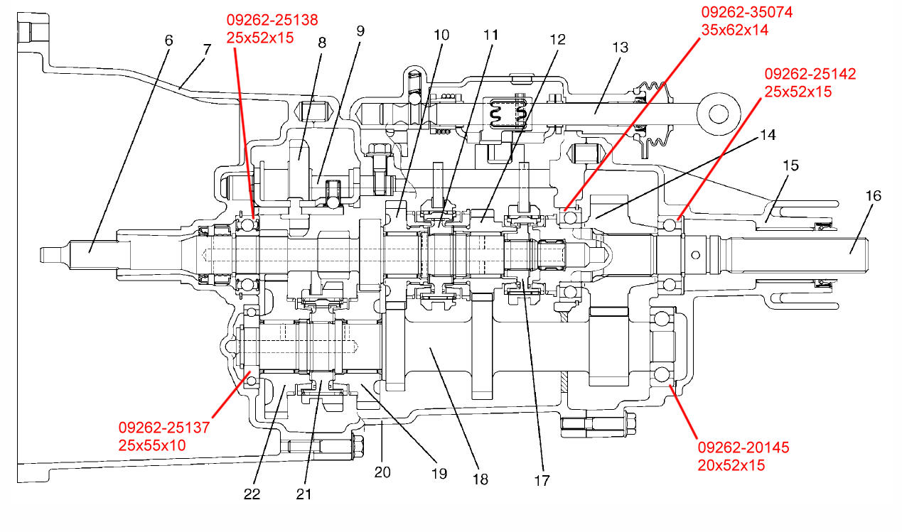 Suzuki Samurai Gearbox Rebuild Jimmy 05 Transmission Noise Forums Forum Site Report This Image