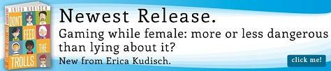 Erica Kudisch - Don't Feed The Trolls Riptide Banner