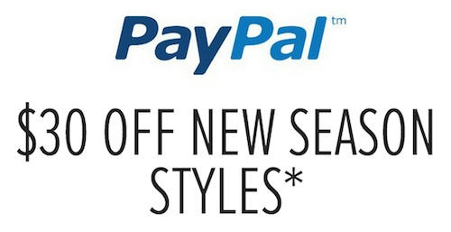 Decent Discounts Available When Paying Via Paypal Using Coupon Codes At Top Fashion Retailers