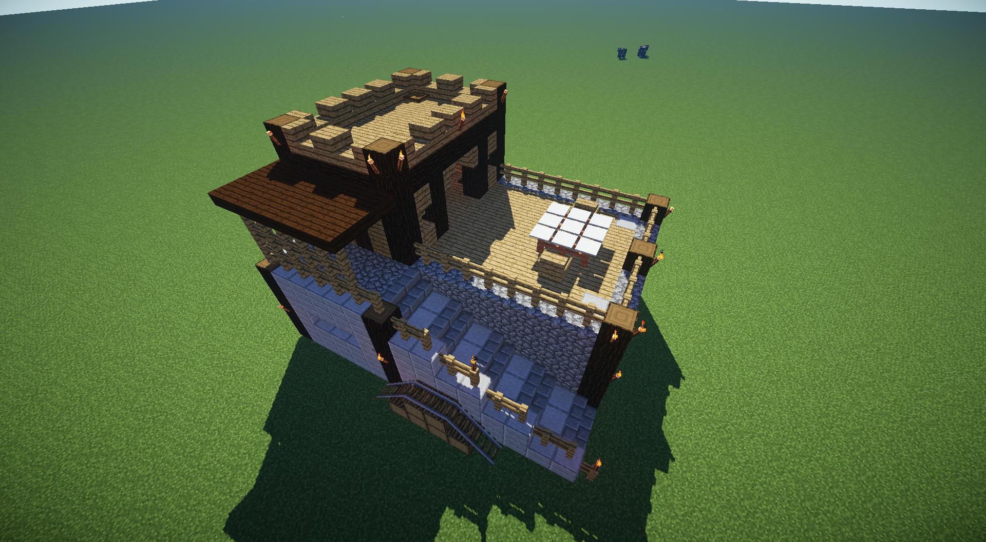 Construction Maison Villageois Custom Forum Minecraft