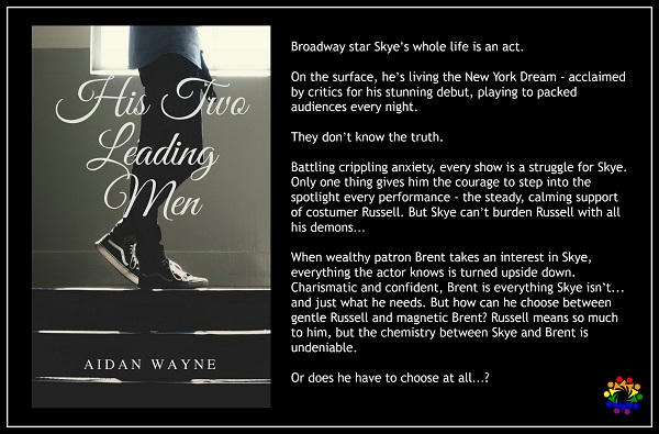 Aidan Wayne - His Two Leading Men BLURB