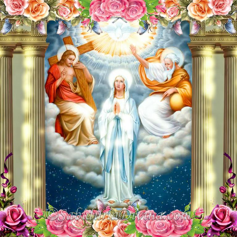 coronacion de la virgen maria como reina