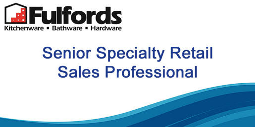 Senior Retail Sales Professional