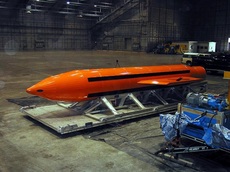 Donald Trump, el nuevo Cowboy en la Casa Blanca y su amenaza a la paz global, en una muestra de poder militar Estados Unidos lanza su bomba no nuclear más poderosa sobre Afganistán