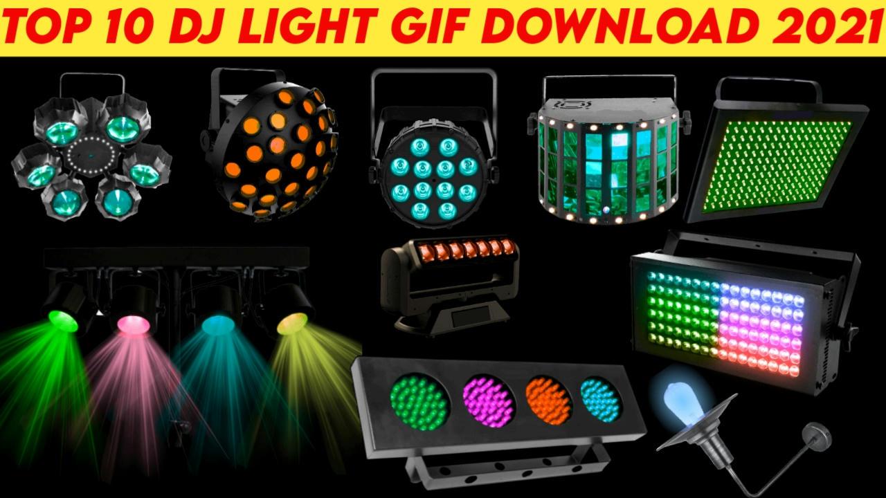 DJ Light Gif Top 10 DjDevrajKasya