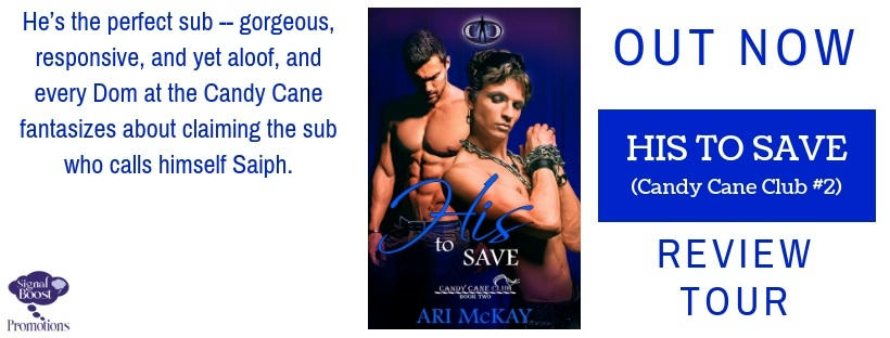 Ari McKay - His To Save RTBanner