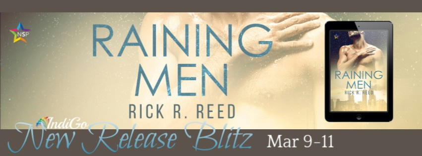 Rick R. Reed - Raining Men RB Banner