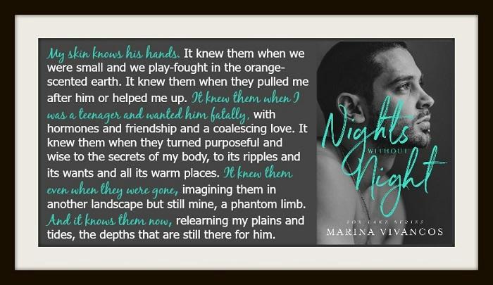 Marina Vivancos - Nights Without Night Teaser Graphic