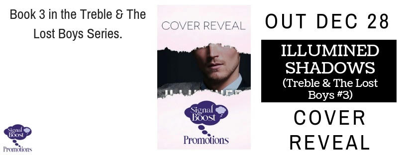 G.R Lyons - Illumined Shadows cover reveal