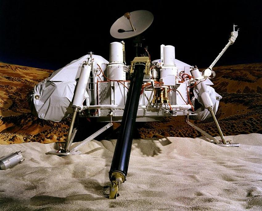 La NASA habría encontrado vida en Marte desde 1976