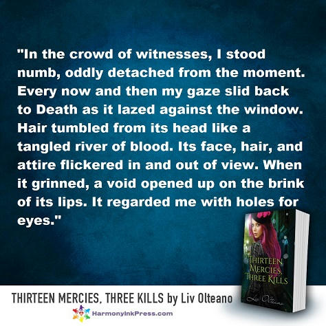 Liv Olteano - Thirteen Mercies, Three Kills Teaser