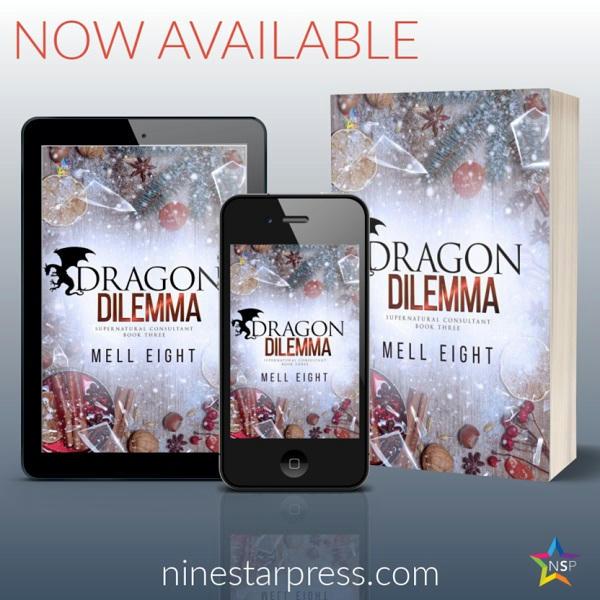 Mell Eight - Dragon Dilemma Now Available