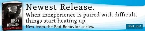 Cari Z. & L.A. Witt - Risky Behavior Riptide Banner