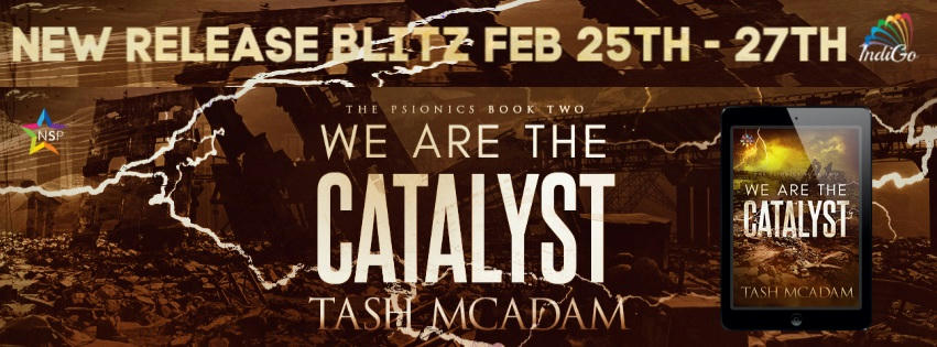 Tash McAdam - We Are The Catalyst RB Banner