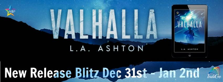 L.A. Ashton - Valhalla Blitz Banner