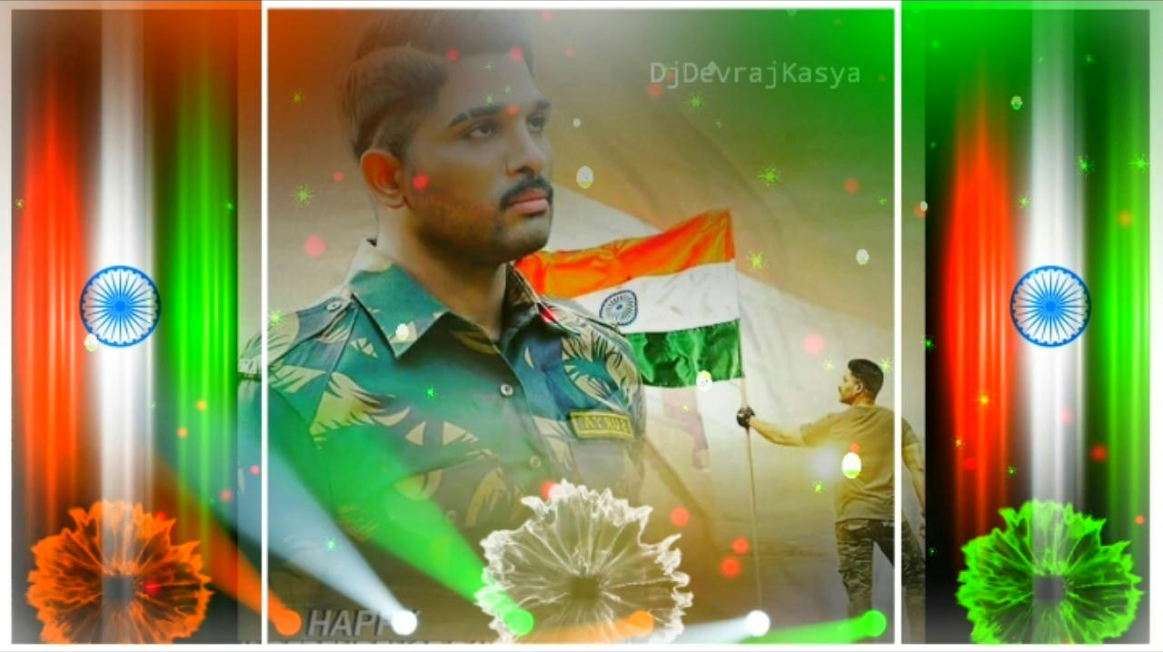 Republic Day Special Avee Player Template 2020
