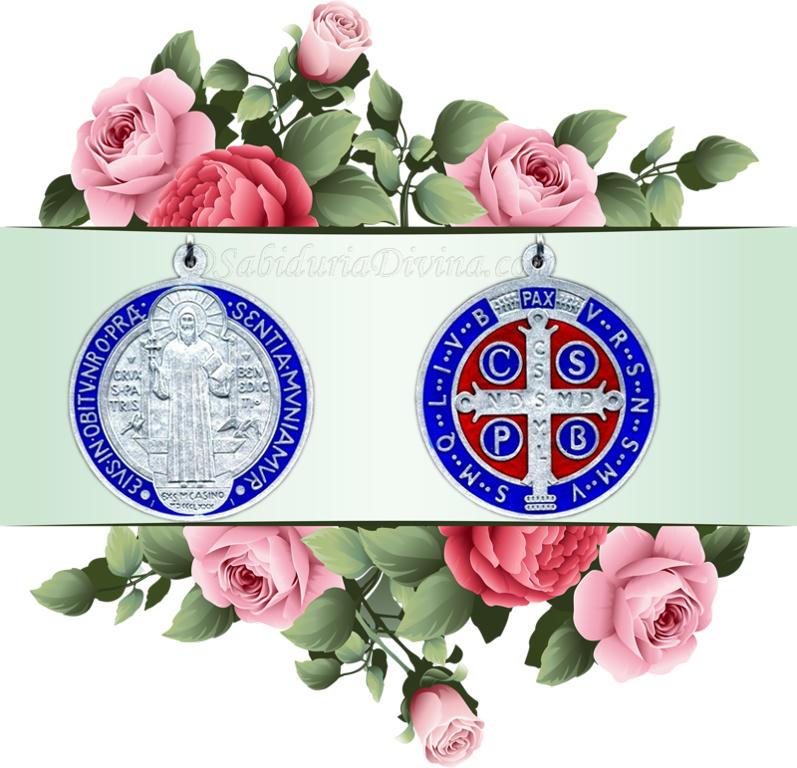 medalla de San Benito - divisor