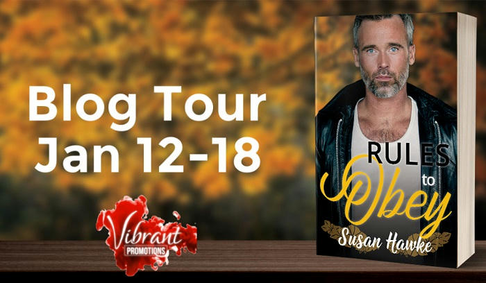 Susan Hawke - Rules to Obey Tour Banner