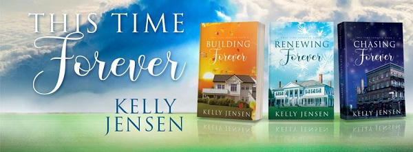 Kelly Jensen - This Time Forever Series Banner