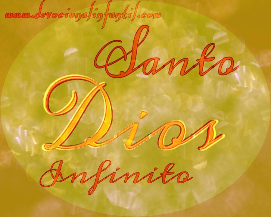 Dios infinito – Tarjeta