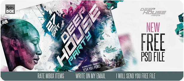 DJ Tour Dates Flyer Template - 6