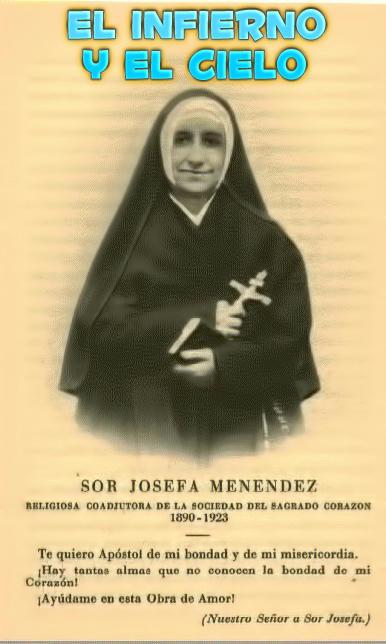 el infierno y el cielo (Sor Josefa Menéndez)