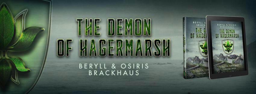 Beryll and Osiris Brackhaus - The Demon of Hagermarsh Banner 1
