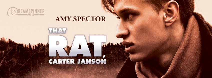 Amy Spector - That Rat, Carter Janson Banner