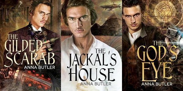 Anna Butler - Lancaster's Luck series Banner