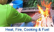 Heat, Fire, Cooking & Fuel