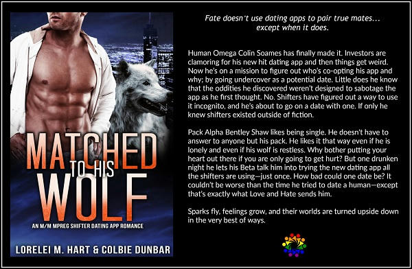 Lorelei M. Hart & Colbie Dunbar - Matched To His Wolf BLURB