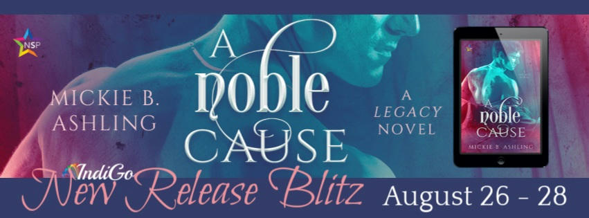 Mickie B. Ashling - A Noble Cause RB Banner