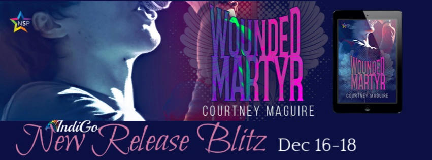 Courtney Maguire - Wounded Martyr RB Banner