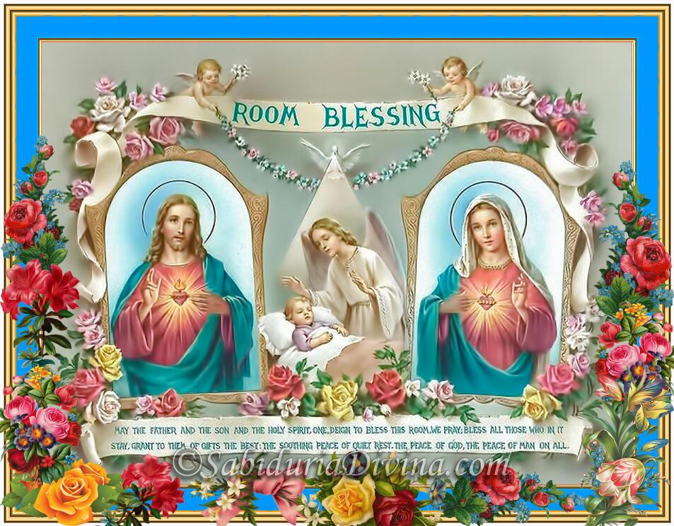 Jesus y la Virgen Maria