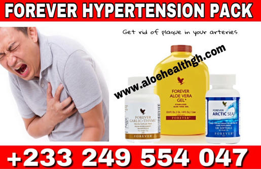forever living high blood pressure pack comes with natural supplements to eliminate plaques from the arteries in other to allow free flow of blood
