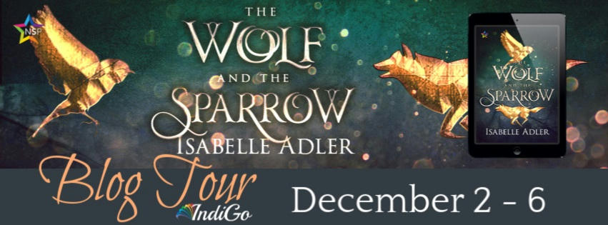 Isabelle Adler - The Wolf and the Sparrow Tour Banner