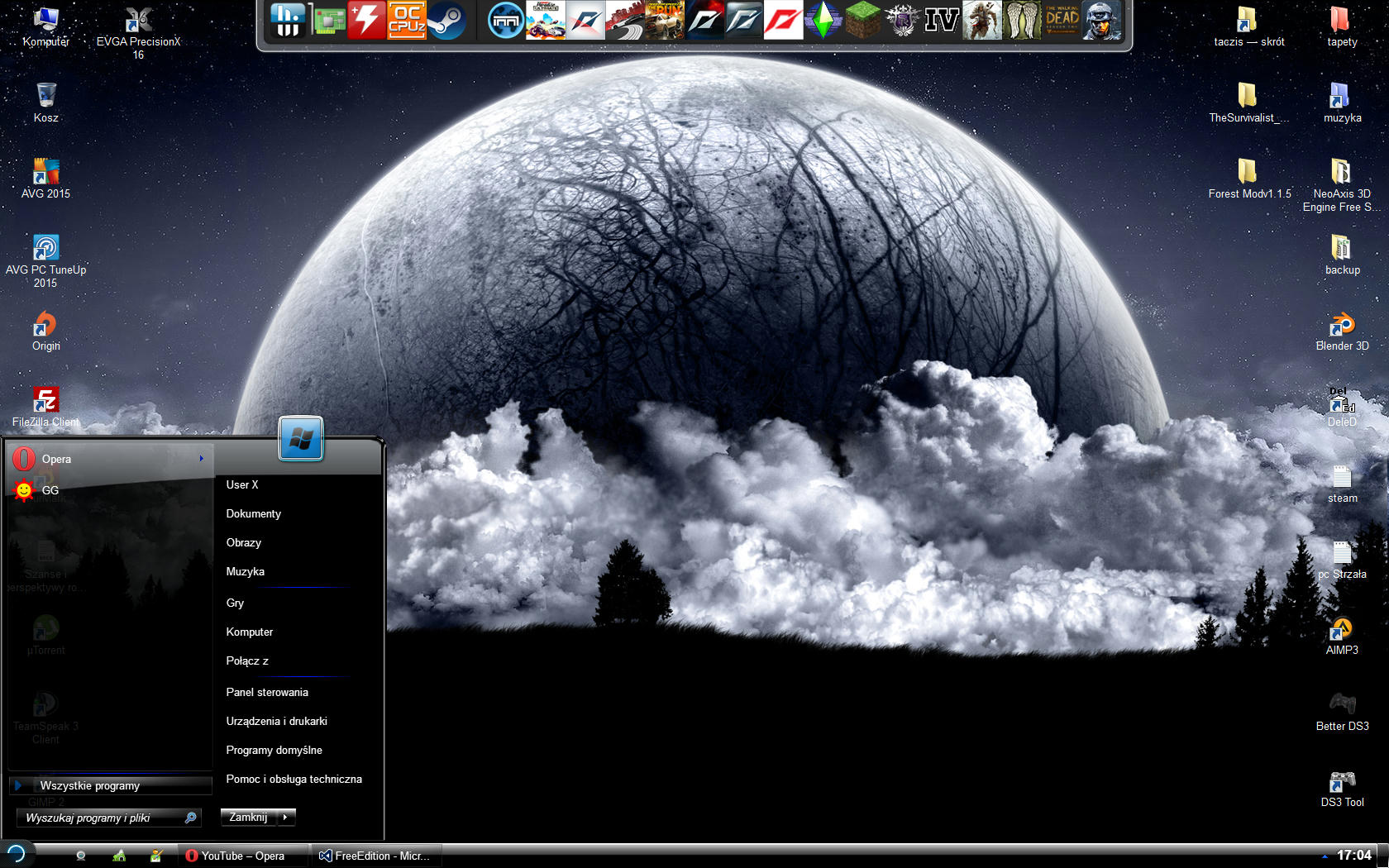 Unreal Software - Thread: Your desktop image