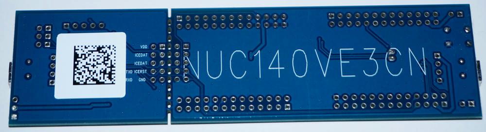 NUC140 NuTiny backside